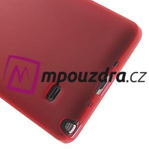 Gélové puzdro na Samsung Galaxy Note 4- červené - 4