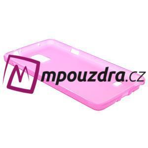 Gélové puzdro pre Samsung Galaxy Note 4- ružové - 4
