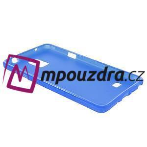 Gélové puzdro na Samsung Galaxy Note 4- modré - 4