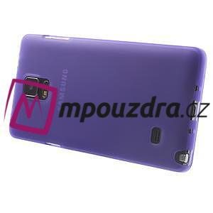 Gélové puzdro pre Samsung Galaxy Note 4- fialové - 4
