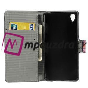 Peňaženkové puzdro na Sony Xperia Z3 D6603 - motýlí - 4