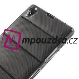 Gélové Body puzdro na Sony Xperia Z1 C6903 - šedé - 4