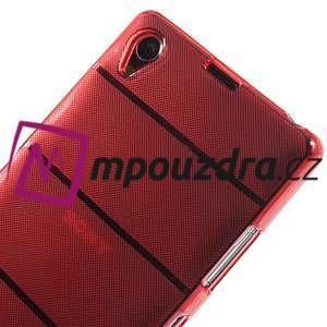 Gelové Body pouzdro na Sony Xperia Z1 C6903 - červené - 4