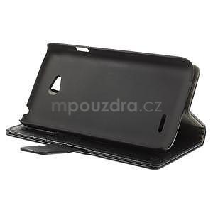Peňaženkové puzdro pre LG L65 D280 - čierné - 4