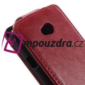 Flipové puzdro na LG L65 D280 - červené - 4