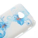 Gélové puzdro pre LG L65 D280 - modrá lilie - 4/5