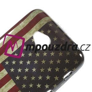 Gélové puzdro na LG L65 D280 - USA vlajka - 4