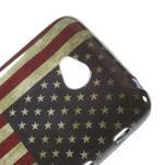 Gélové puzdro na LG L65 D280 - USA vlajka - 4/5
