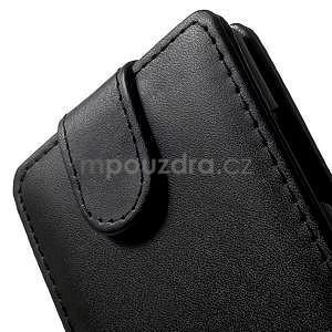 Flipové puzdro na Nokia Lumia 830 - čierné - 4