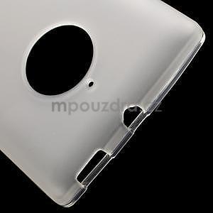 Gélové matné puzdro na Nokia Lumia 830 - transparentný - 4