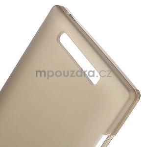 Gélové matné puzdro na Nokia Lumia 830 - sivé - 4