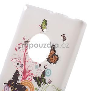 Gélové puzdro na Nokia Lumia 830 - motýľci - 4