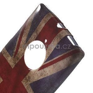 Gélové puzdro na Nokia Lumia 830 - UK vlajka - 4