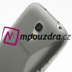Gélové S-line puzdro pro Samsung Galaxy S4 mini i9190, i9192, GT-i9195 - šedé - 4