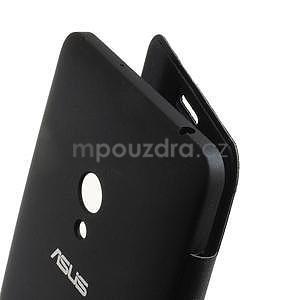Flipové puzdro na Asus Zenfone 5 - tmavo modré - 4
