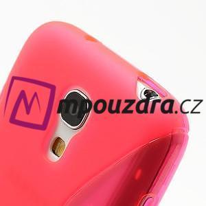 Gélové S-line puzdro pro Samsung Galaxy S4 mini i9190, i9192, GT-i9195 - rose - 4