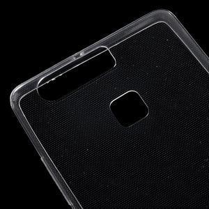Ultratenký gélový obal na Huawei P9 - transparentné - 4