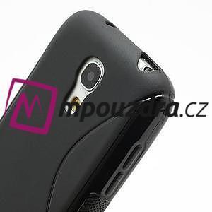 Gelové S-line pouzdro pro Samsung Galaxy S4 mini i9190, i9192, GT-i9195 - černé - 4