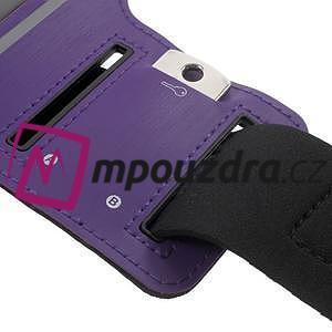 BaseRunning puzdro na ruku pre telefony do 125*60 mm - fialové - 4