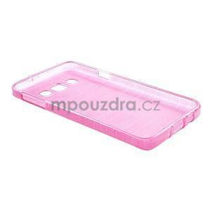 Broušené puzdro na Samsung Galaxy A3 - rose - 4