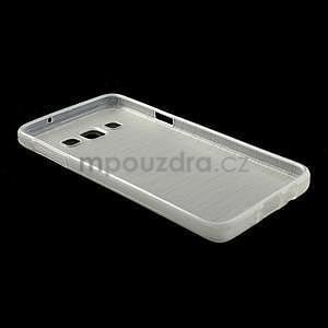 Broušené puzdro na Samsung Galaxy A3 - bílá - 4