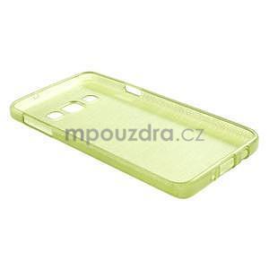Broušené puzdro pre Samsung Galaxy A3 - zelená - 4