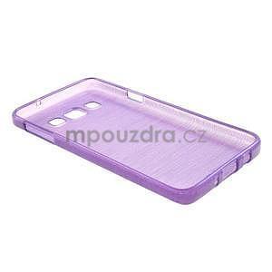 Broušené puzdro na Samsung Galaxy A3 - fialová - 4