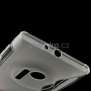 Gélové S-line puzdro pre Nokia Lumia 1020- transparentný - 4