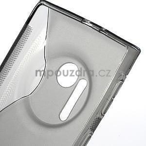 Gélové S-line puzdro pre Nokia Lumia 1020- šedá - 4