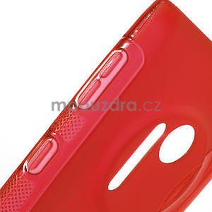 Gélové S-line puzdro pre Nokia Lumia 1020- červené - 4