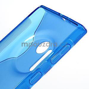 Gélové S-line puzdro pre Nokia Lumia 1020- modré - 4