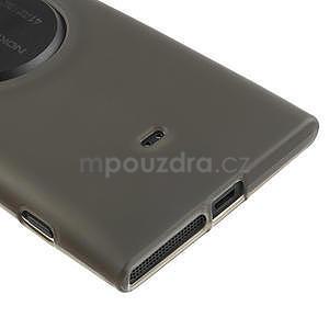 Gélové matné puzdro pre Nokia Lumia 1020- šedé - 4