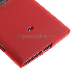 Gélové matné puzdro pre Nokia Lumia 1020- červené - 4