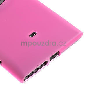 Gélové matné puzdro pre Nokia Lumia 1020- ružové - 4