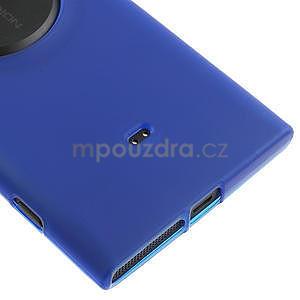 Gélové matné puzdro pre Nokia Lumia 1020- modré - 4