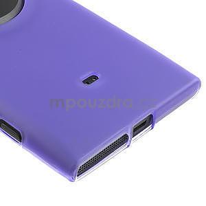 Gélové matné puzdro pre Nokia Lumia 1020- fialové - 4
