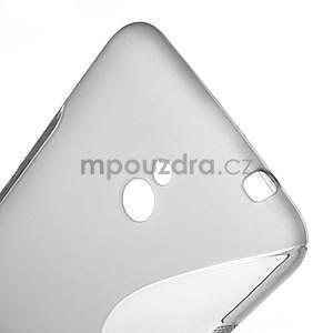 Gélové S-line puzdro pre Nokia Lumia 1320- sivé - 4