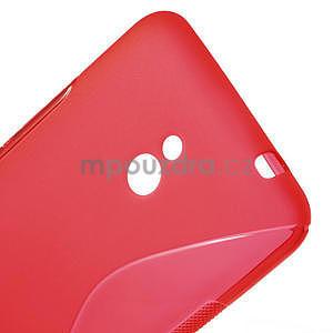 Gélové S-line puzdro pre Nokia Lumia 1320- červené - 4