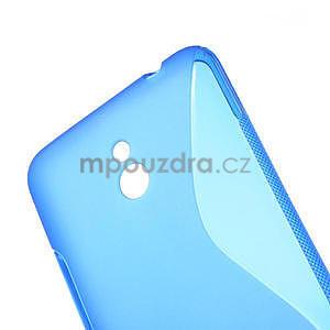 Gélové S-line puzdro pre Nokia Lumia 1320- modré - 4