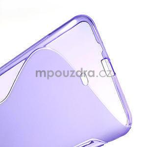 Gélové S-line puzdro pre Nokia Lumia 1320- fialové - 4