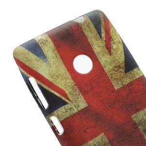 Gélové puzdro na Nokia Lumia 520- vlajka - 4