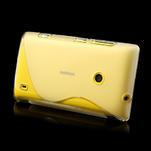Gélové S-line puzdro na Nokia Lumia 520- transparentný - 4/6