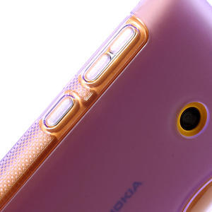 Gélové S-line puzdro na Nokia Lumia 520- fialové - 4