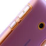 Gélové S-line puzdro na Nokia Lumia 520- fialové - 4/5