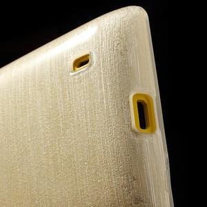 Gélové kartáčové puzdro na Nokia Lumia 520- biele - 4