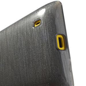 Gélové kartáčové puzdro na Nokia Lumia 520- sivé - 4