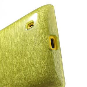 Gélové kartáčové puzdro na Nokia Lumia 520- zelené - 4