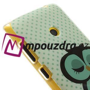 Gélové puzdro na Nokia Lumia 520 - sova - 4