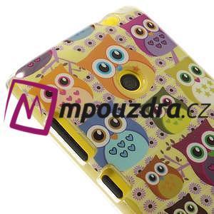 Gélové puzdro na Nokia Lumia 520 - multi sovy 1 - 4