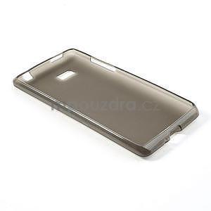 Gélové matné puzdro pre HTC Desire 600- šedé - 4